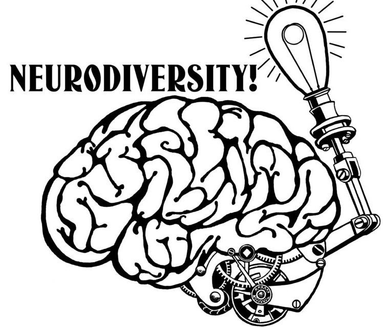 neurodiversity drawing by Jade McWilliams